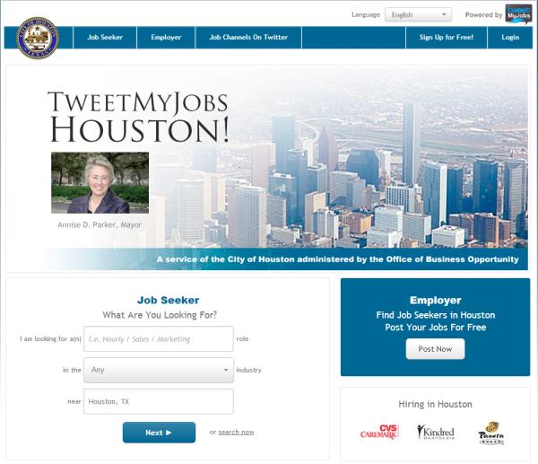 Houston.TweetMyJobs.com