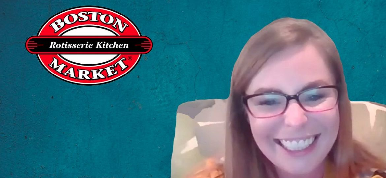 Boston Market video with Arielle Gerard